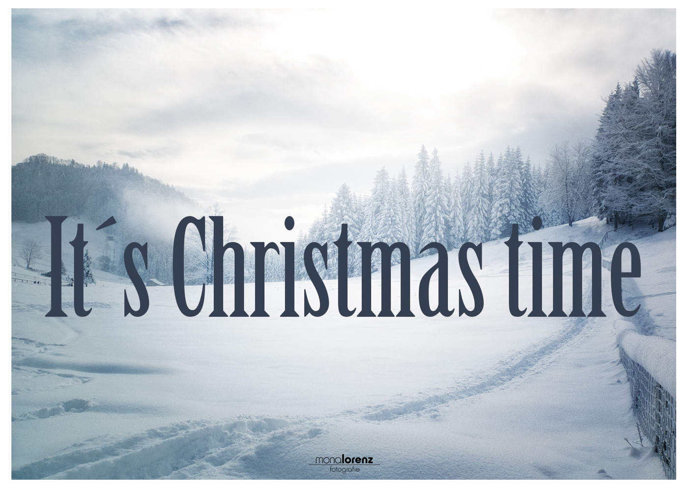 it´s Christmas time