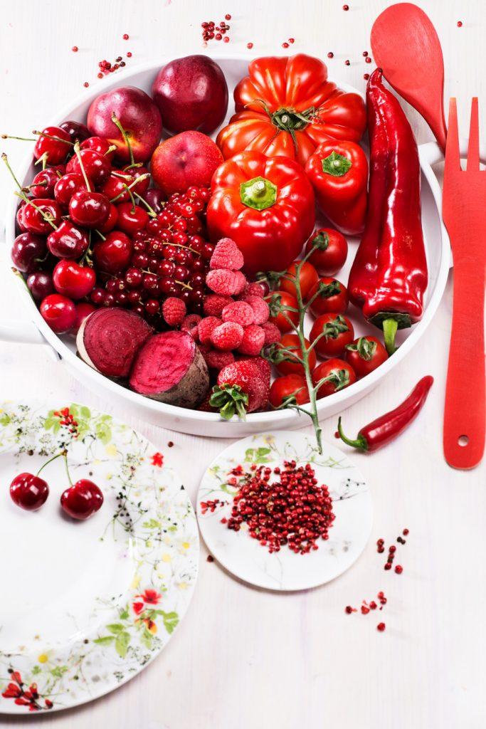 INTRO Essen nach Farben