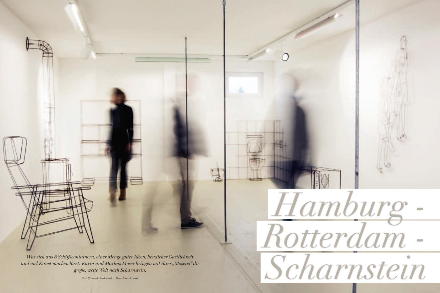 """Mosere in Schornstein """"Unser Salzkammergut"""" Magazin"""