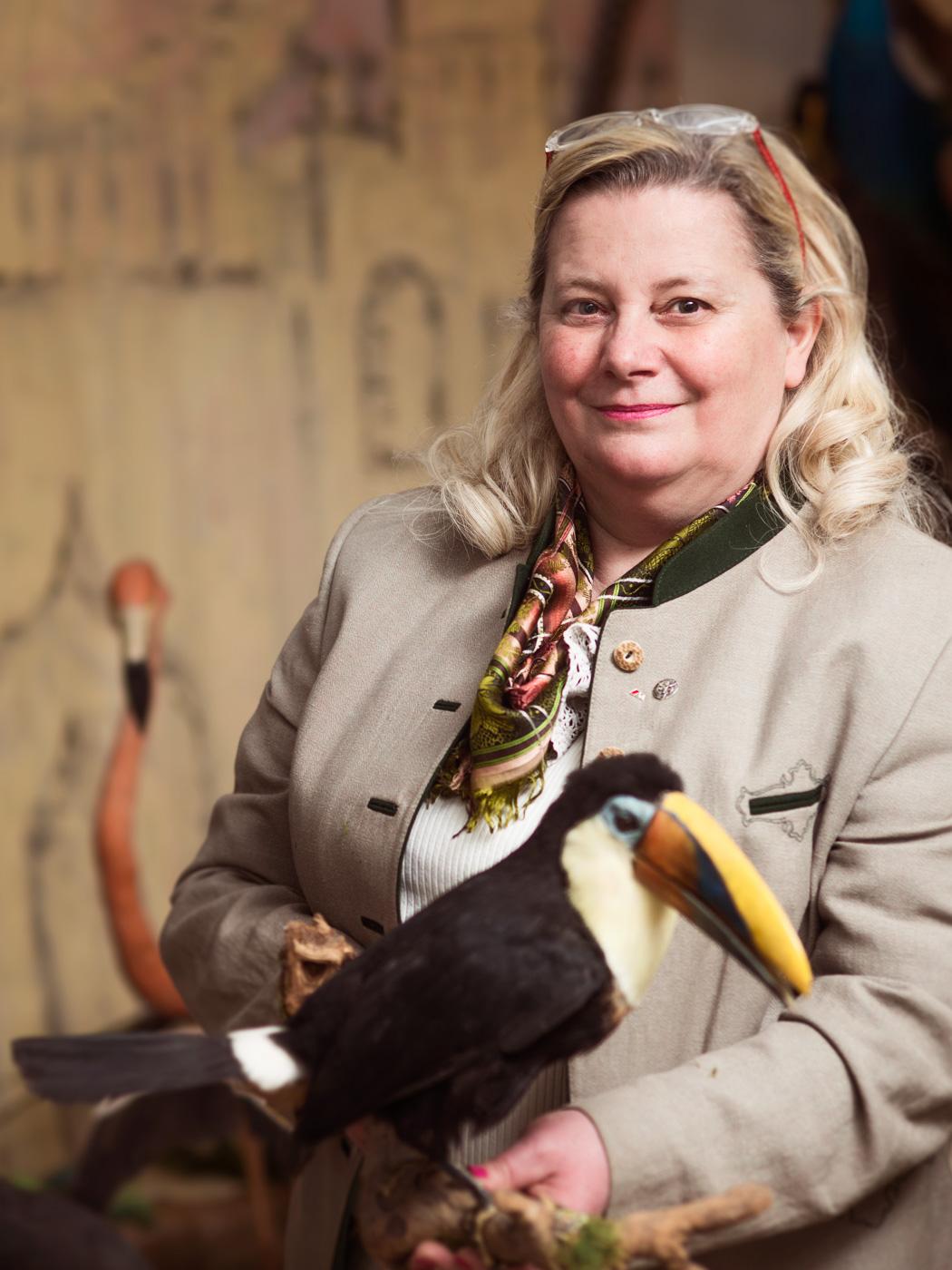 Patricia Höller Tierpräparatorin