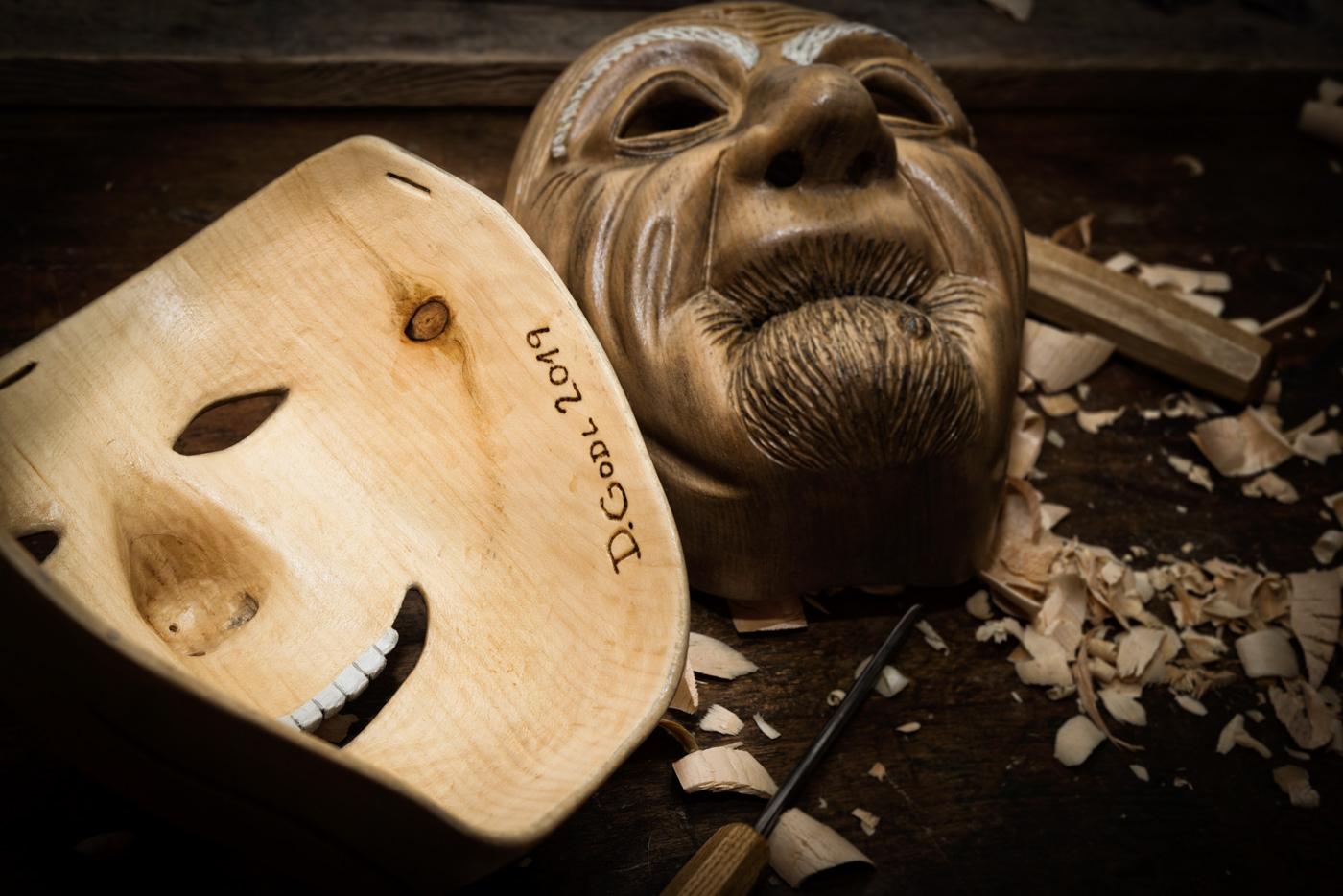 Ebenseer Fasching Maske