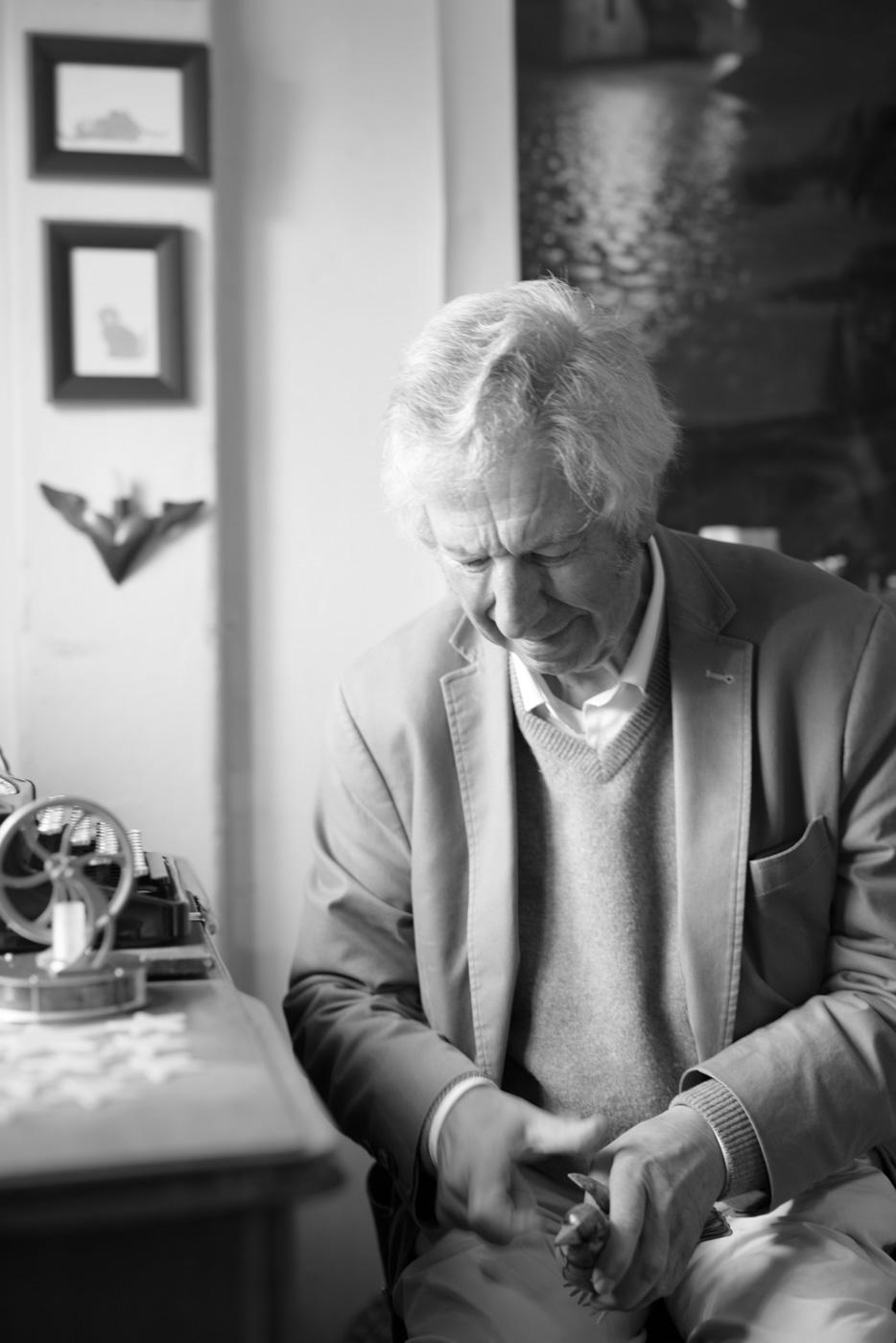 Schriftsteller Alfred Komarek