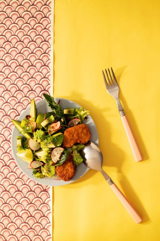 Salat im 70ies style